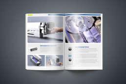 Produktbroschüre IST Metz Gestaltung, Konzeption und Layout Werbeagentur Wendlingen