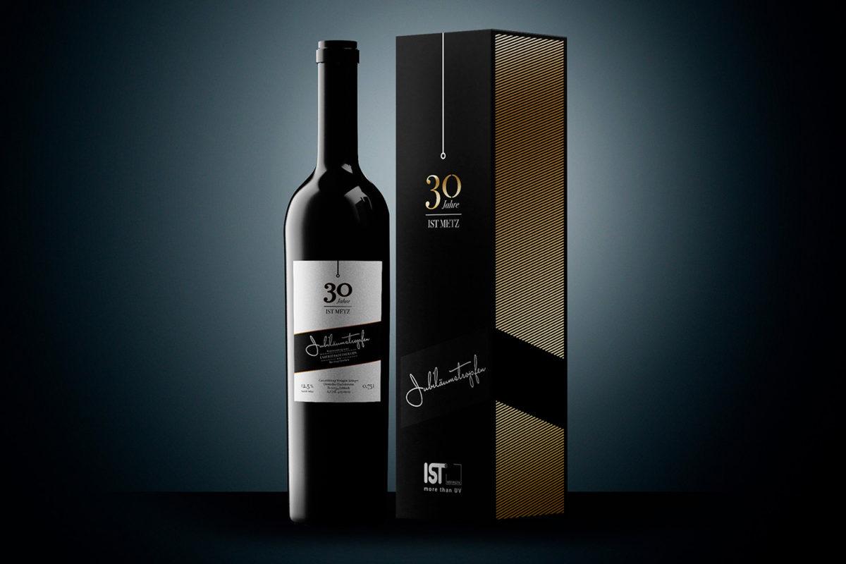 30 Jahre IST Metz Verpackung Design Weinkarton