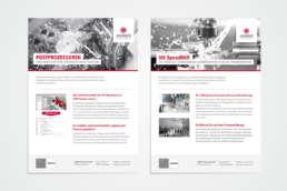 Janus Engineering Produktblatt – Gestaltung durch Kreavis Werbeagentur Wendlingen