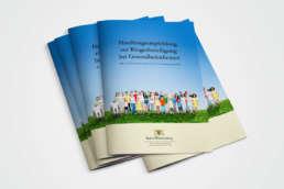 Handbuch zur Kommunalen Gesundheitsförderung Baden Württemberg Layout Kreavis Werbeagentur Wendlingen