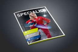 IST Metz Kundenmagazin Layout DTP Fotoshooting – KREAVIS Werbeagentur Wendlingen