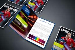Kundenmagazin Specialist – Beratung, Konzeption, Gestaltung durch die Kreavis Werbeagentur Wendlingen