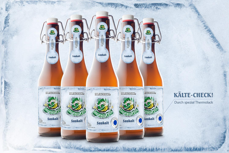 Gruibinger Bier Packaging Design KREAVIS Werbeagentur Wendlingen